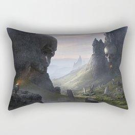 The Flame of Helheim Rectangular Pillow