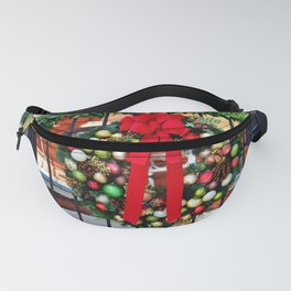 Wreath On The Gate Fanny Pack