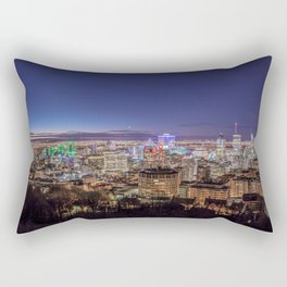 Montreal Night Moves Rectangular Pillow