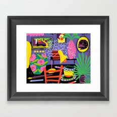 Workspace Framed Art Print