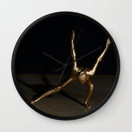 Məˈtalik Wall Clock