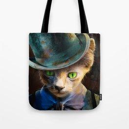 Cat the Ripper Tote Bag