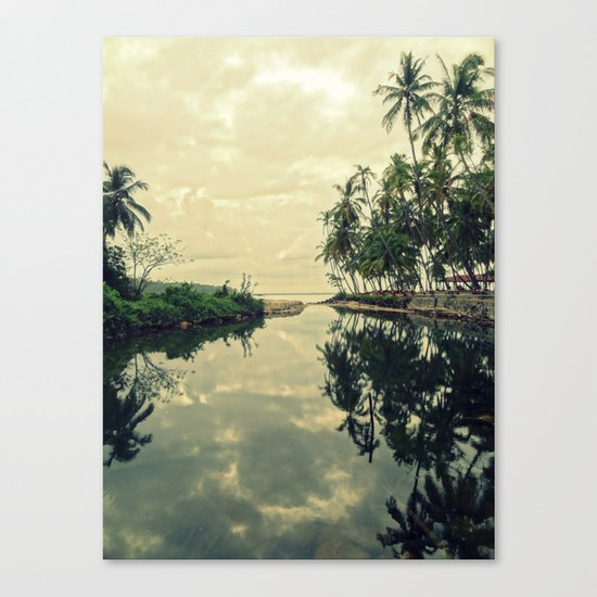 Mood for Reflection Canvas Print