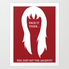 Spiderman - Mary Jane 'Jackpot' Art Print