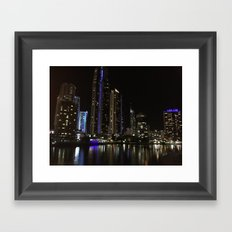 Nightlife Framed Art Print