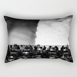 Rome, Tevere Long river | Roma, Tevere lungotevere Rectangular Pillow