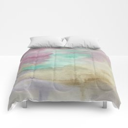 Emulsion - Watercolor Painting Comforters