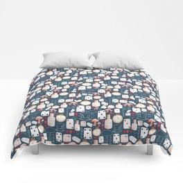 Alice in Wonderland - Indigo madness Comforters