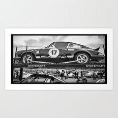 Historic car Art Print