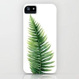 Fern. iPhone Case