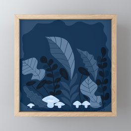 The Night Jungle Framed Mini Art Print