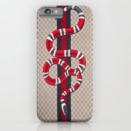 Guci Snake iPhone Case