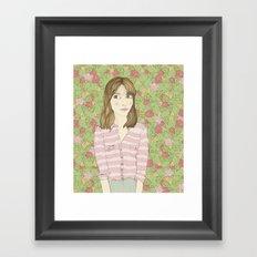 ¿eres normal? Framed Art Print