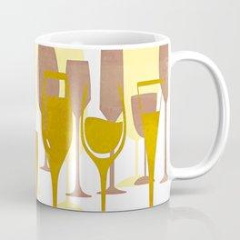 Mid-Century Modern Abstract Celebration Coffee Mug