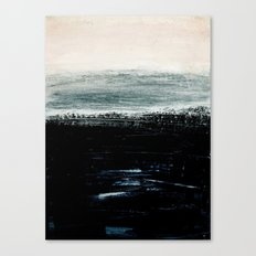 abstract minimalist landscape 3 Canvas Print