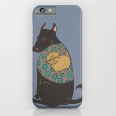 Black Dog in a Kitten Coat Slim Case iPhone 6s