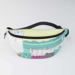 Castle and City Fanny Pack