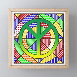 Protect the Earth - Trans Framed Mini Art Print
