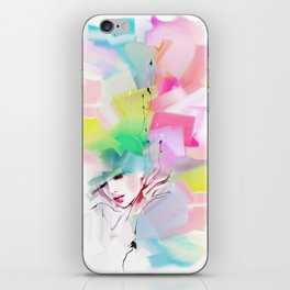 color composition iPhone Skin