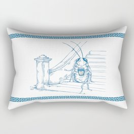 Cup O' Coffee NYC Style_cockroach Rectangular Pillow