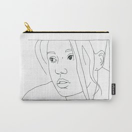 Blue is the Warmest Color Carry-All Pouch