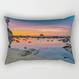 Tide Pool Reflections Rectangular Pillow