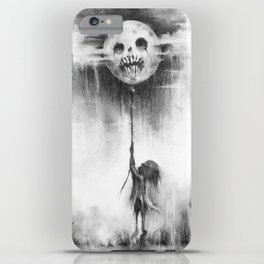 The Moon Harvest iPhone Case