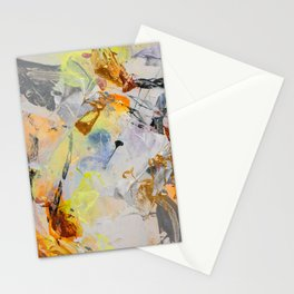 Vortex ○ dynamic, atmospheric, contemporary art painting Stationery Cards