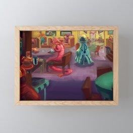Cafeteria Framed Mini Art Print