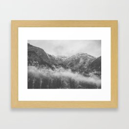 Moody clouds 2 Framed Art Print