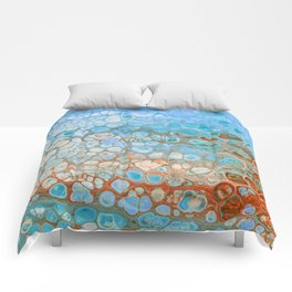 Alive - Ocean Colors Pattern Comforters