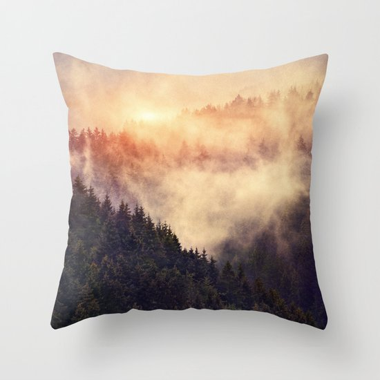 In My Other World Throw Pillow