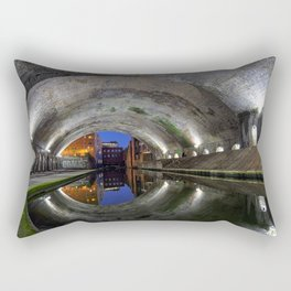 Canal Tunnel in Birmingham used as a set in the film Ready Player One Rectangular Pillow