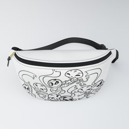 Mummy & Skeleton II Fanny Pack