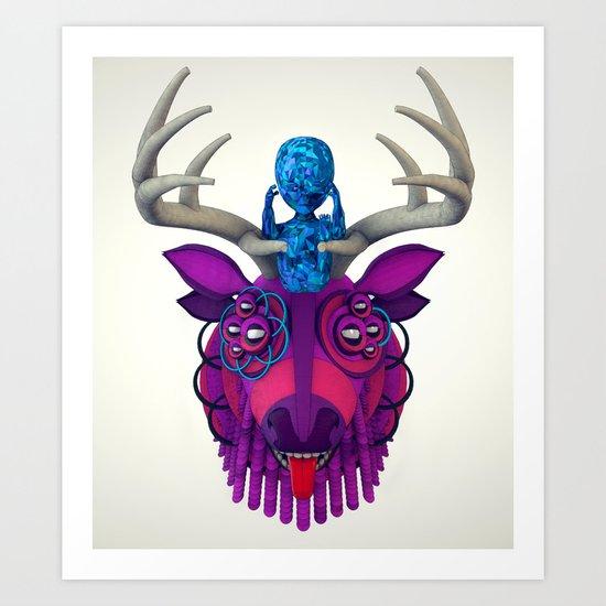 Artificial Mythology Art Print
