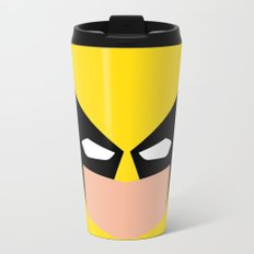 Wolverin e superhero Metal Travel Mug