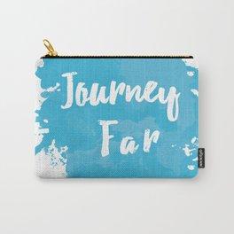 Journey Far Paint Splatter Carry-All Pouch