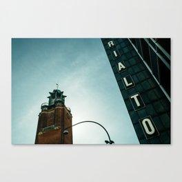 Rialto day Canvas Print