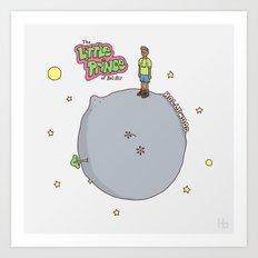 Little Fresh Prince Art Print