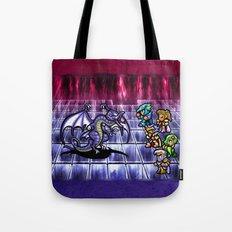 Final Fantasy Bahamut Battle Tote Bag