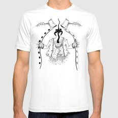 Cossack roots White Mens Fitted Tee SMALL
