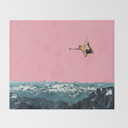Higher Than Mountains Throw Blanket