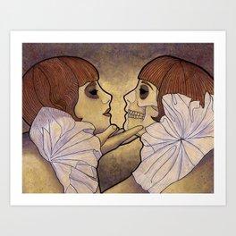 The Fairbanks Twins Art Print
