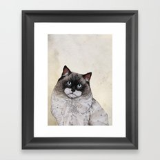 Mr. Ragdoll Cat Framed Art Print