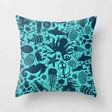 VNDERVVATER Throw Pillow