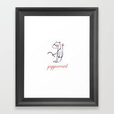 Peppermint Framed Art Print