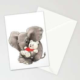 Baby Boo with Teddy Stationery Cards
