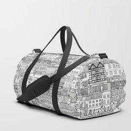 Cambridge toile mono Duffle Bag