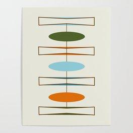 Mid-Century Modern Art 1.2 Poster