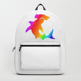Rainbow hammerhead Backpack